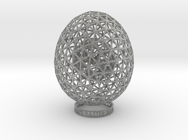 Easter 2012 Egg No.2  3d printed
