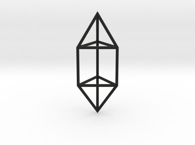 ElongatedTriangularDipyramid 70mm 3d printed