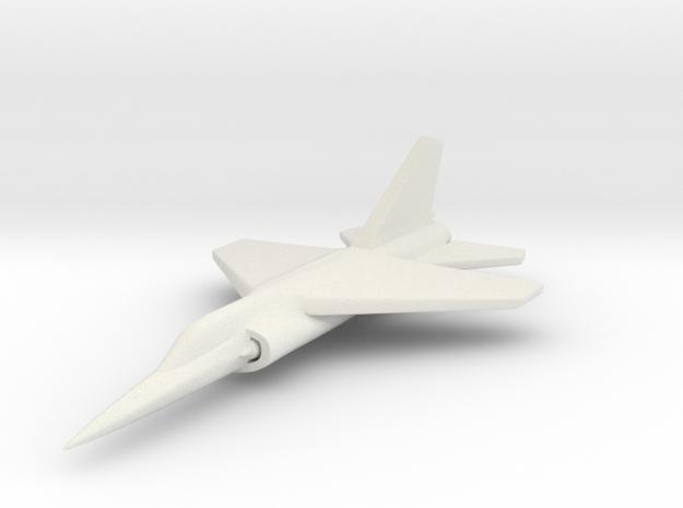 1/285 (6mm) Dassault Mirage F1 3d printed