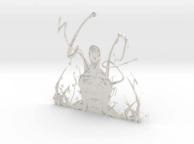 Carnage artwork in White Natural Versatile Plastic