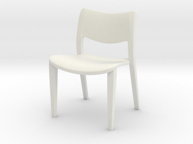 1:24 Classica in White Natural Versatile Plastic