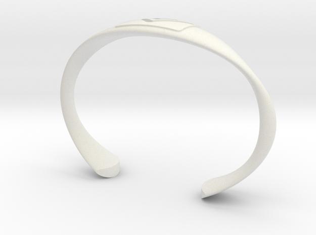 summit series bracelet in White Natural Versatile Plastic