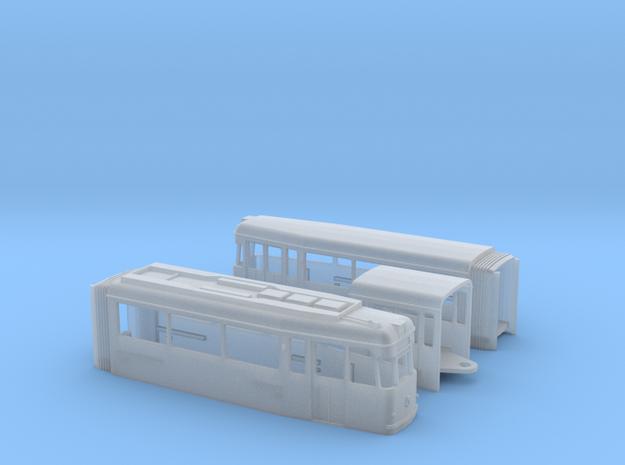 Tram Gotha G4 67 Spur N (1:160) 3d printed