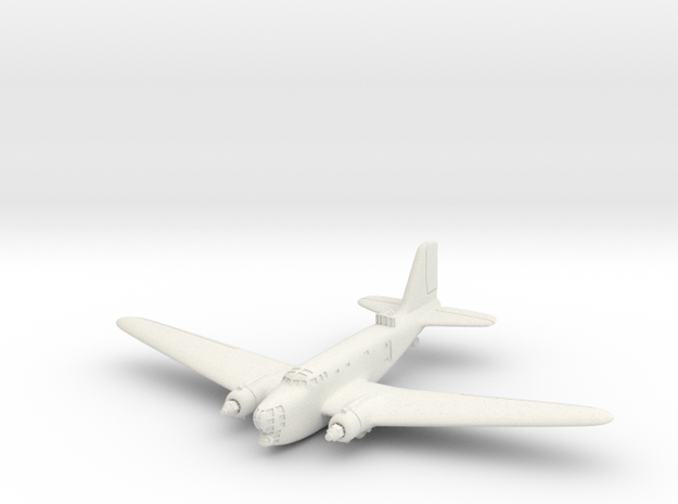 B-18A 6mm 1/285 (Landing gear retracted)  3d printed