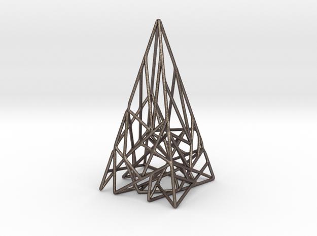 Triangulated Pyramid Pendant