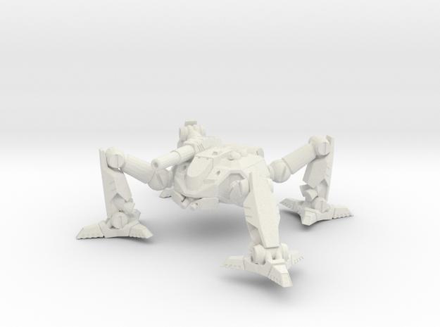 Mecha- Arachnid II (1 285th, mm) Multi Part 3d printed