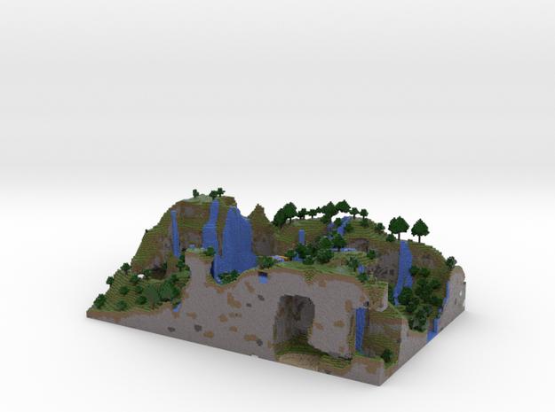 Waterfall Vale 3d printed