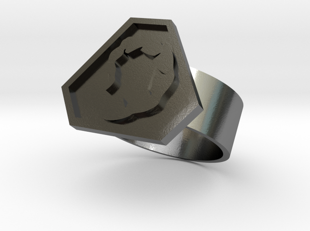 Command and Conquer Nod Ring 3d printed