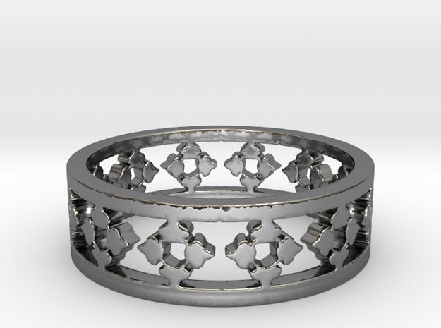 Endless Knight  Ring Size 10.5 in Premium Silver