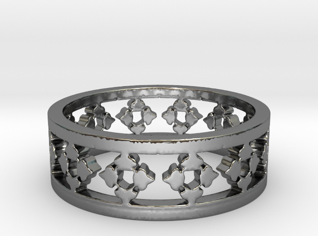 Endless Knight  Ring Size 11 in Premium Silver