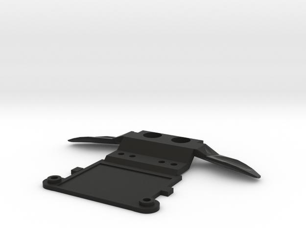 Mini-z MR03 Honda front piece in Black Natural Versatile Plastic