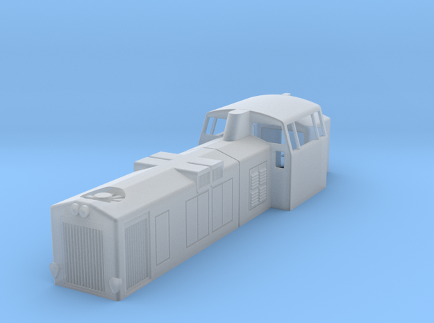 Dv12 2500 n-scale (1:160) in Smooth Fine Detail Plastic
