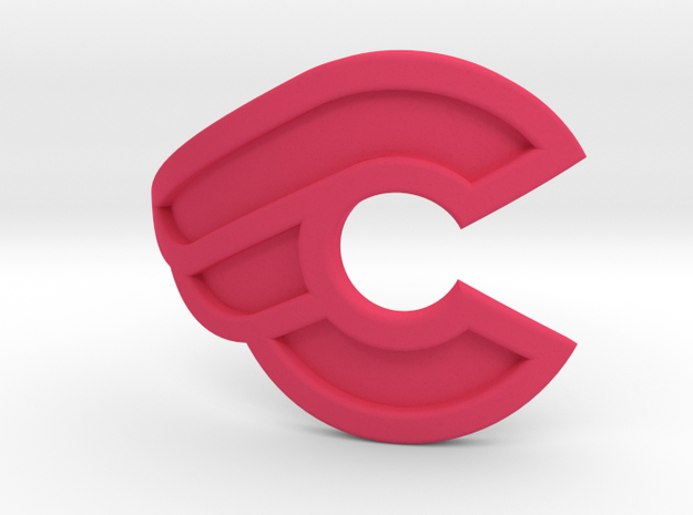 Cinelli bicycle front logo 3d printed