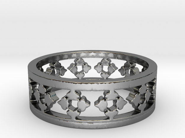 Endless Knight Ring Size 13 in Premium Silver