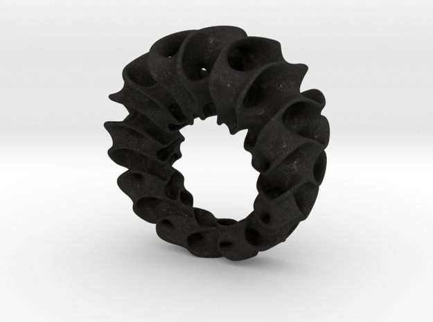 Gyroid Ring 3d printed