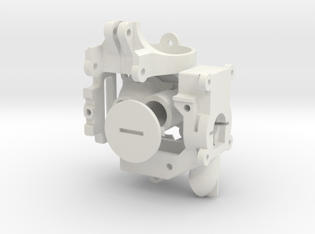 Bundle of Robot Parts in White Natural Versatile Plastic