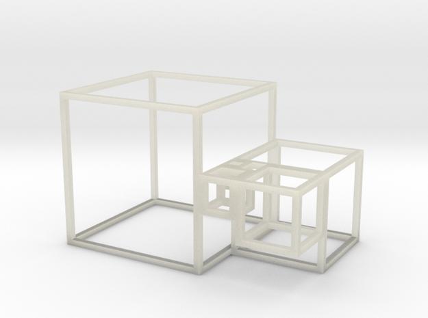 Golden Cubes 3d printed