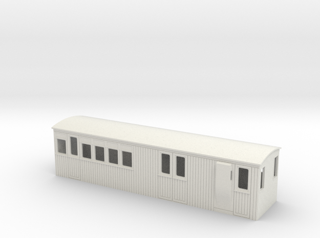 009 colonial 3rd brake coach 3d printed