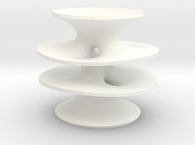 Wohlgemuth's Surface of Genus 2 3d printed