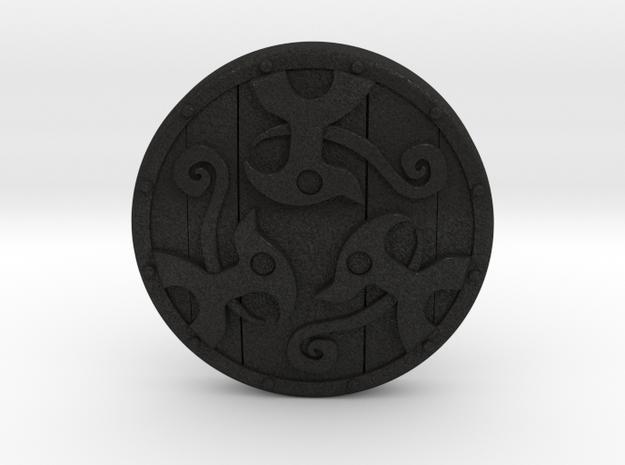 Braced Shield 3d printed