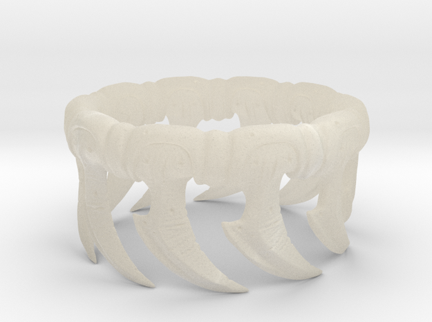 Zerg Ring 3d printed