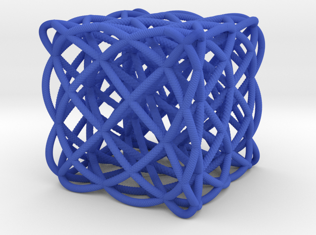 smaller box of ellipses 3d printed