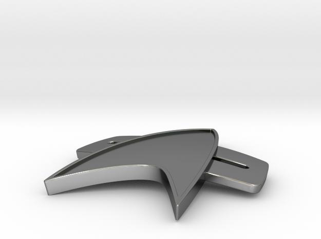 Starfleet 2370s Combadge 3d printed