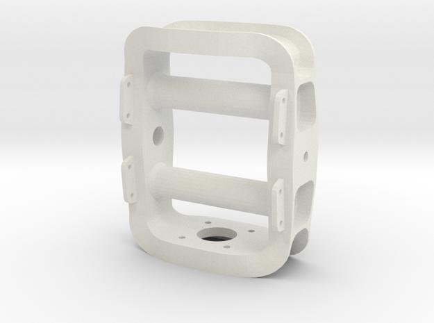 Fras Motor Frame in White Natural Versatile Plastic