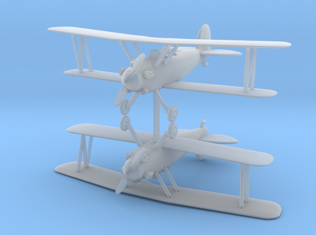 Biplane - Set of 2 - Nscale in Frosted Ultra Detail