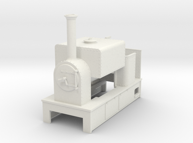 O9 saddle tank tram loco #3 3d printed