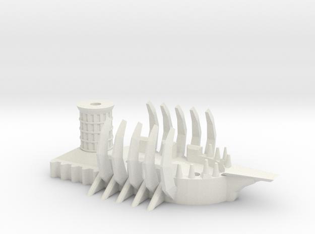 Ogre Tyrant Ship 3d printed
