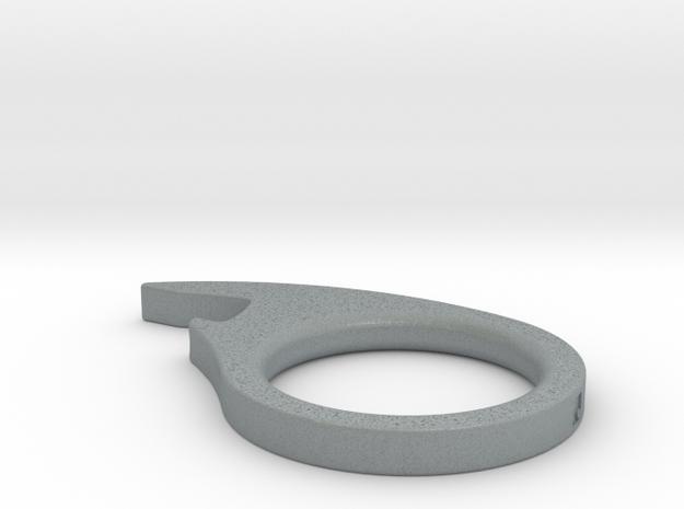 Fish Eye Bottle Opener Stainless 3d printed