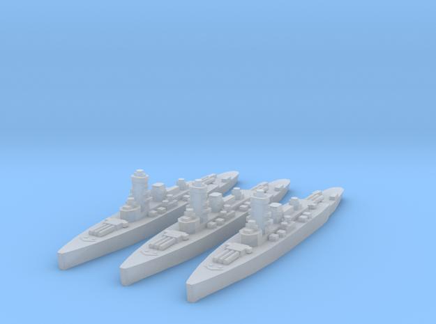 Deutschland class pocket-battleships 1/4000 3d printed