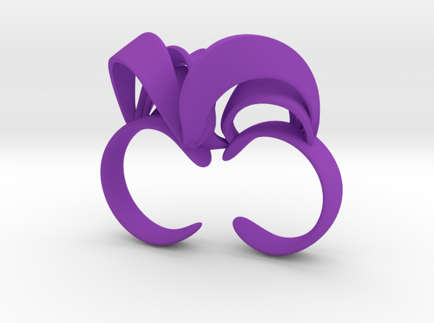 Ribbon Double Ring 6/7 3d printed