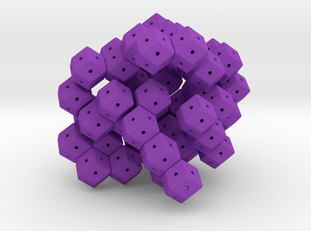 Planar Tetrarhons 3d printed