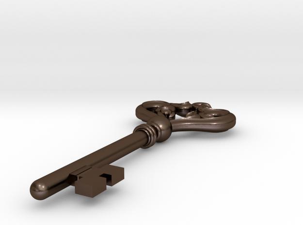 Victorian Key pendant 3d printed