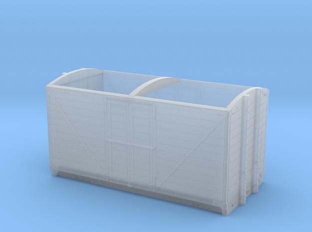 LNWR 6ton Refrigerator Van body - 4mm scale