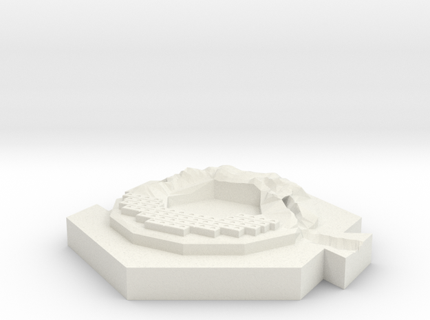 River (brick) 3d printed