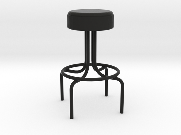 1:24 Metal Diner Stool 3d printed