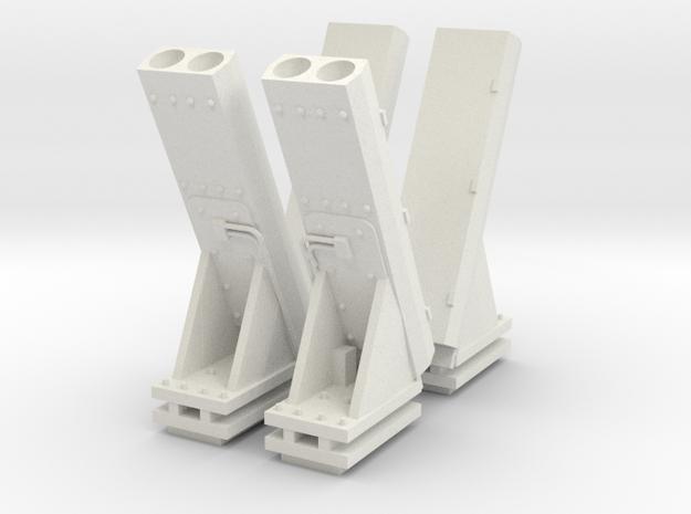 1:96 MK53 NULKA Chaff Launcher - set of 4 3d printed