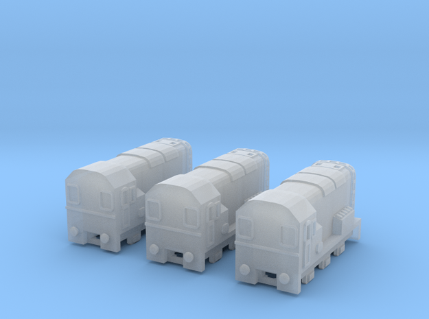 BR 08Class Diesel T-Gauge 3pack - Uses Eishindo Wh in Smooth Fine Detail Plastic