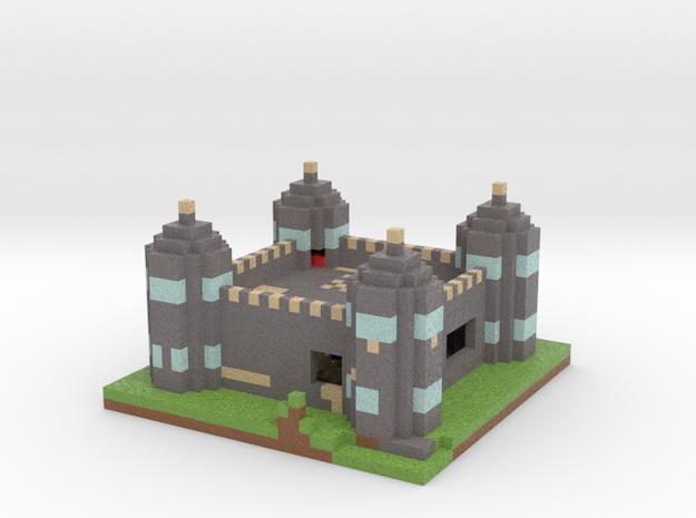 Castle Jet in Full Color Sandstone