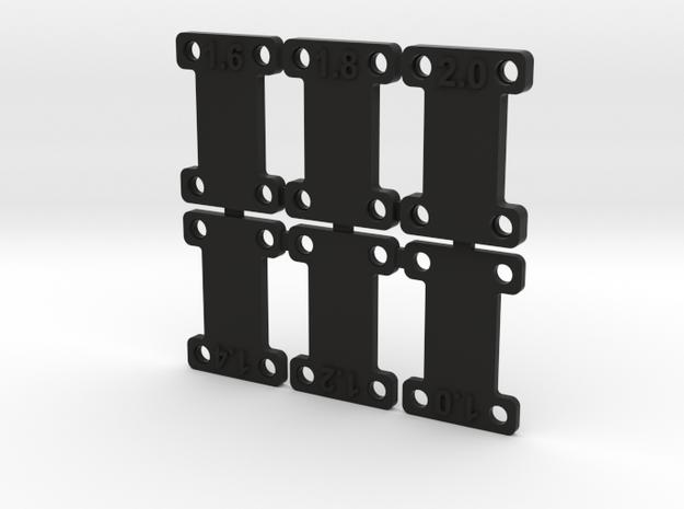 dNano H plates 3d printed