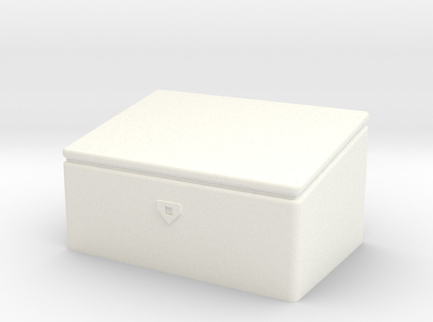 1/14th Scale Toolbox for logging headache rack Tam in White Processed Versatile Plastic