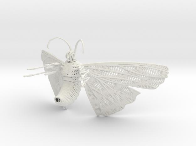 Tree (47).obj in White Natural Versatile Plastic