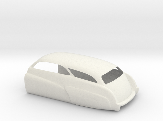 Mercury Wagon Rear 3d printed