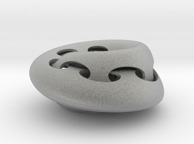 torus-knot-print2 3d printed