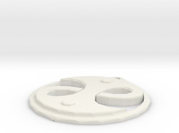 Guild Seal in White Natural Versatile Plastic