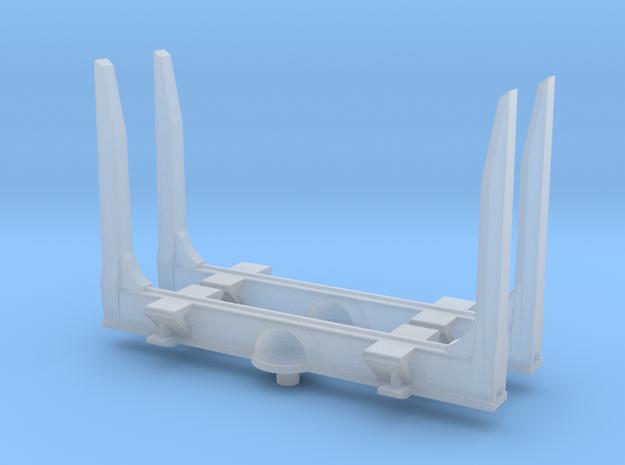 1/160 N scale Log bunks, angle top