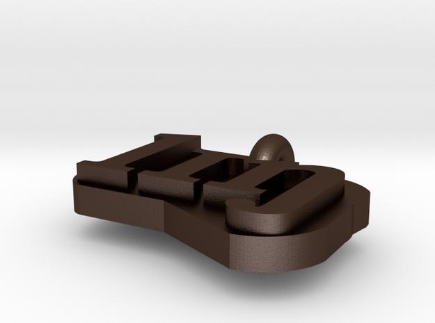 Metal Lingustics Necklacs Part 1 3d printed